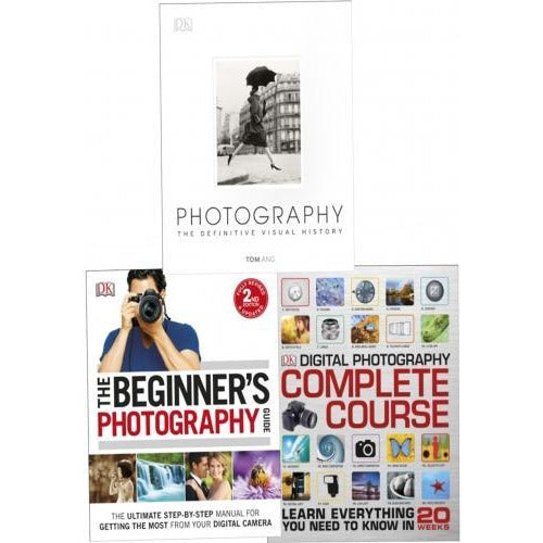 Digital Beginners Photography Guide Collection 3 Books Set-beginner Photography Guidepaperback Dig.. - books 4 people