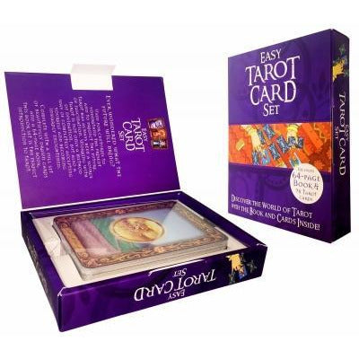 The Easy Tarot Kit - 64 Page Book And 78 Cards Deck - books 4 people