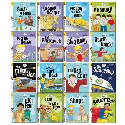 Biff Chip And Kipper Stage 2 Read With Oxford For Age 4 School Early Learners - 16 Books Collectio.. - books 4 people
