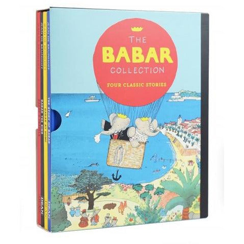 The Babar Collection - Four Classic Stories - Babar At Home Babar The King Babars Travels The Stor.. - books 4 people