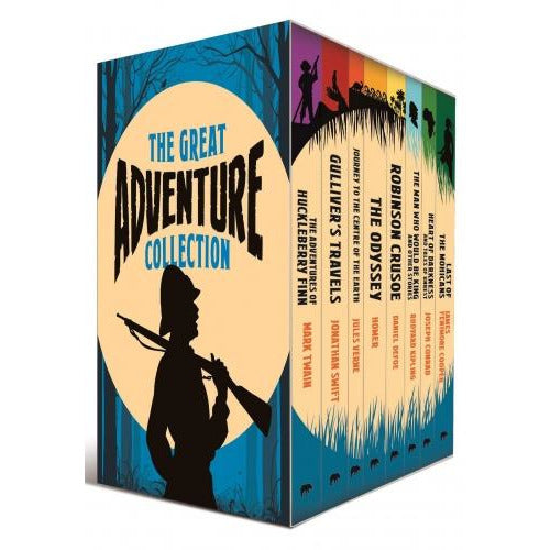 The Great Adventure Collection 8 Books Box Collection Set With A Journal - books 4 people