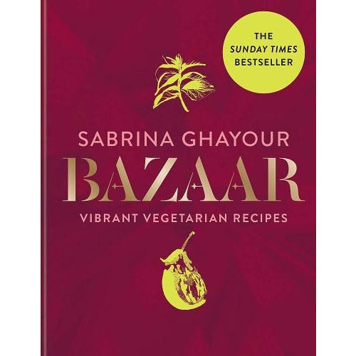 Bazaar - Vibrant Vegetarian And Plant-based Recipes - books 4 people