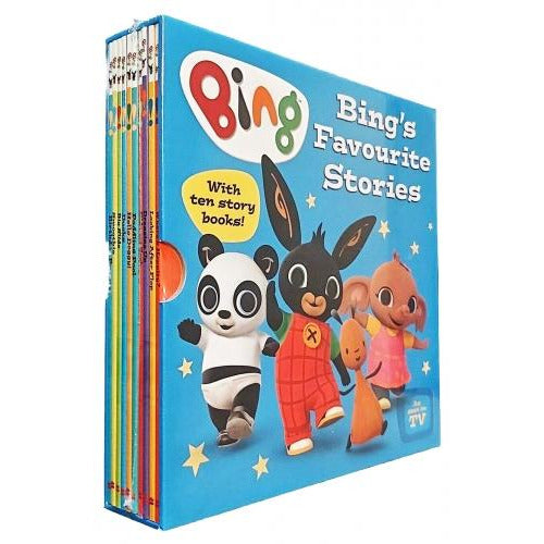 Bing Bunny 10 Books Ted Dewan Favourite Stories Box Set As Seen On Tv - books 4 people
