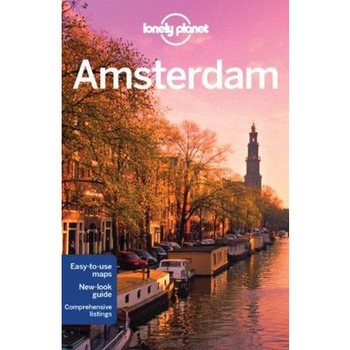 Lonely Planet Amsterdam Travel Guide - books 4 people