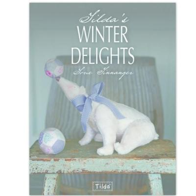 Tildas Winter Delights-art And Craft Christmas Dollspaper Angels Hanging Santas Stockings Handicra.. - books 4 people