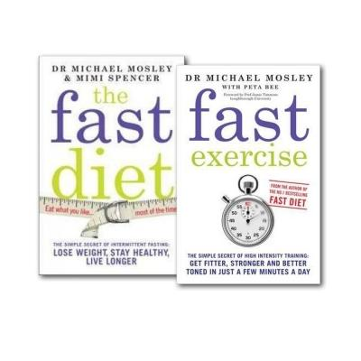 The Fast Diet And Fast Exercise 2 Books Collection Set - books 4 people