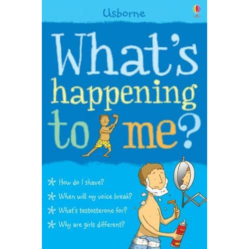 Whats Happening To Me Boy Facts Of Life Boys Shave Voice Girls Blue Growth - books 4 people