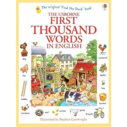 Usborne My First Thousand Words In English Books Paperback - books 4 people