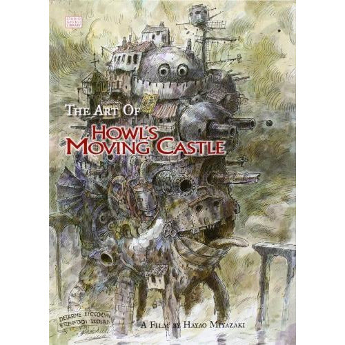 The Art Of Howls Moving Castle Studio Ghibli Library - books 4 people