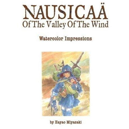 The Art Of Nausicaa Of The Valley Of The Wind Watercolor Impressions Studio Ghibli Library - books 4 people