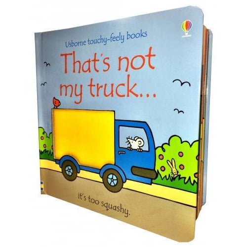 Thats Not My Truck Touchy-feely Board Books - books 4 people