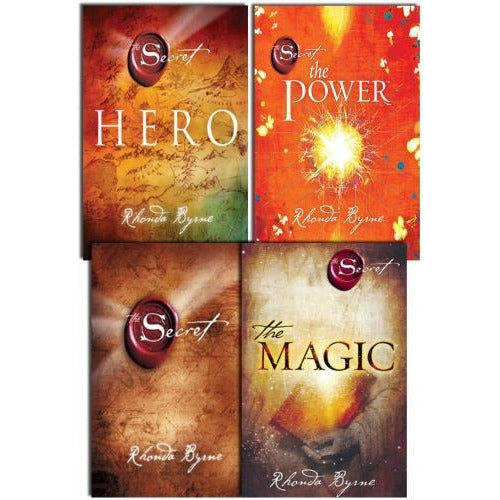 Rhonda Byrne The Secret Series Collection 4 Books Set Hero Power Magic Secret - books 4 people