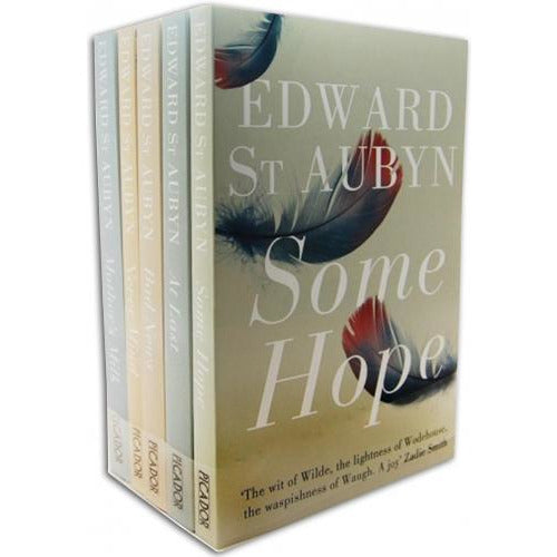 The Patrick Melrose Novels Collection Edward St Aubyn 5 Books Set Mothers Milk Never Mind Bad News.. - books 4 people