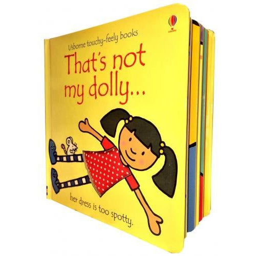 Thats Not My Dolly Touchy-feely Board Books - books 4 people