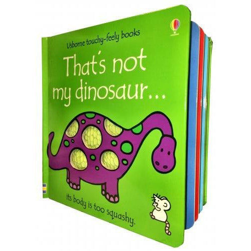 Thats Not My Dinosaur Touchy-feely Board Books - books 4 people
