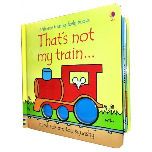 Thats Not My Train Touchy-feely Board Books - books 4 people
