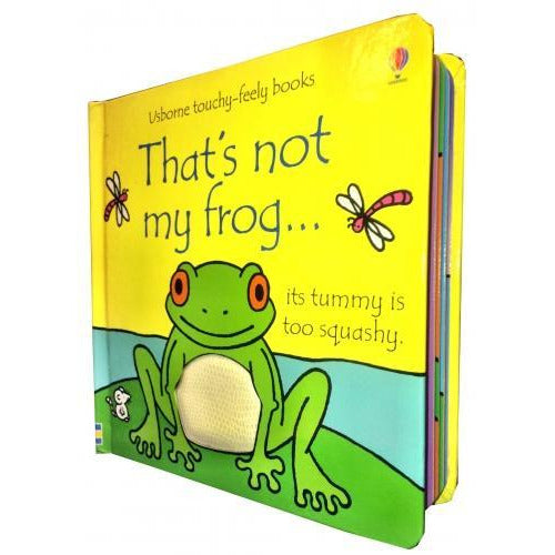 Thats Not My Frog Touchy-feely Board Books - books 4 people