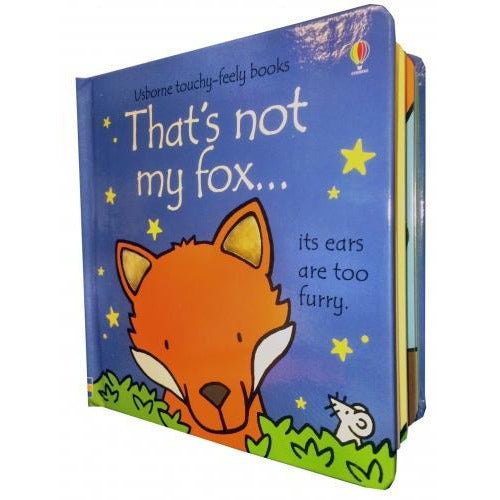 Thats Not My Fox Touchy-feely Board Books - books 4 people
