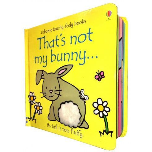 Thats Not My Bunny Touchy-feely Board Books - books 4 people