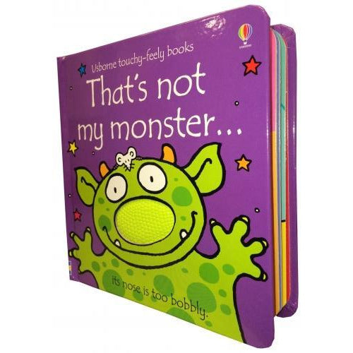 Thats Not My Monster Touchy-feely Board Books - books 4 people