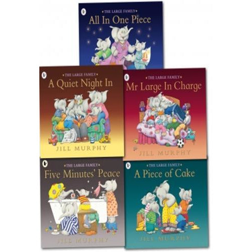 Large Family Collection Jill Murphy 5 Books Set - books 4 people