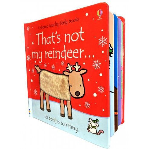 Thats Not My Reindeer - Touchy-feely Board Books - books 4 people