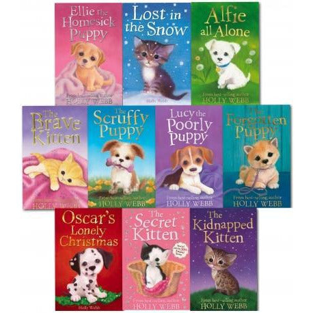 Holly Webb - Series 3 - Animal Stories 10 Books Collection Set Books 21 To 30 - books 4 people