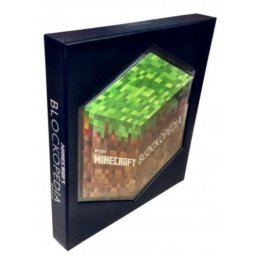 Minecraft Blockopedia Illustrated Book - books 4 people