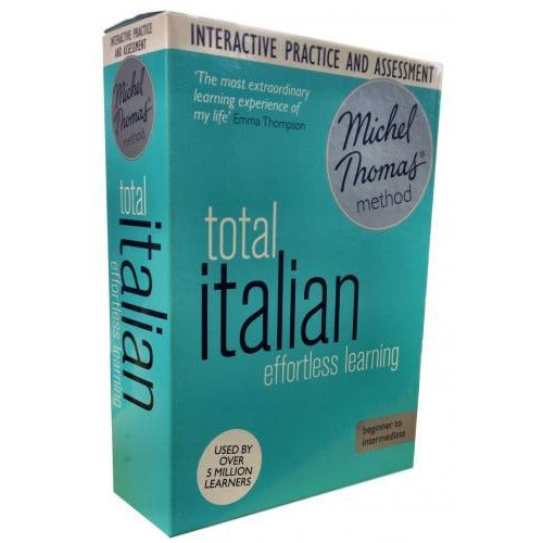 Total Italian With The Michel Thomas Method Inc Practice And Test Cd-audio - books 4 people