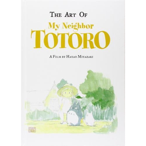 The Art Of My Neighbor Totoro Studio Ghibli Library - books 4 people