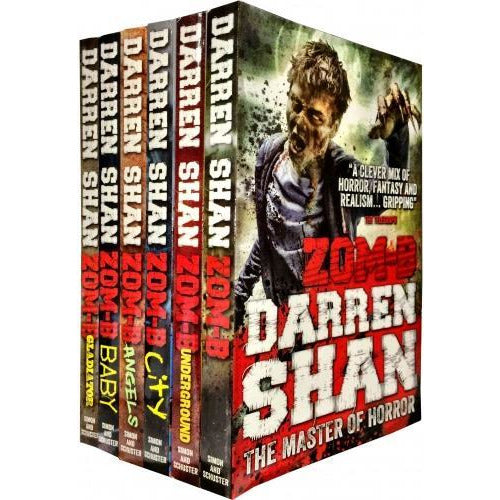 Zom B Zombies Walking Dead Resident Evil New Series 6 Books Set Collection By Darren Shan Zom-b An.. - books 4 people