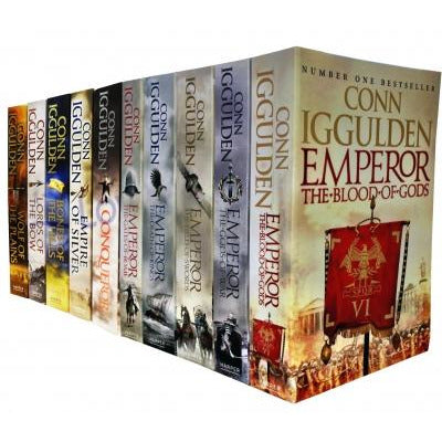 Conn Iggulden Emperor And Conqueror Series 10 Books Collection Set - books 4 people