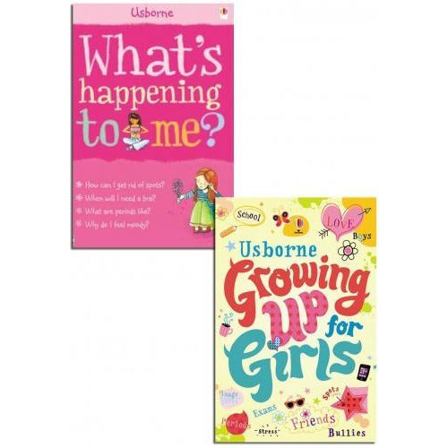 Whats Happening To Me Growing Up For Girls Collection 2 Books Set - books 4 people