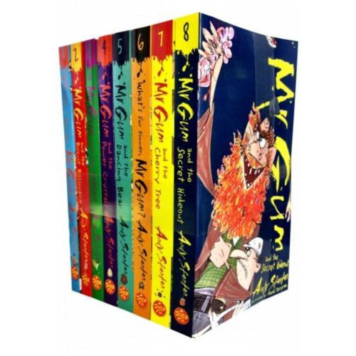 Mr Gum Collection Andy Stanton 8 Books Set - books 4 people