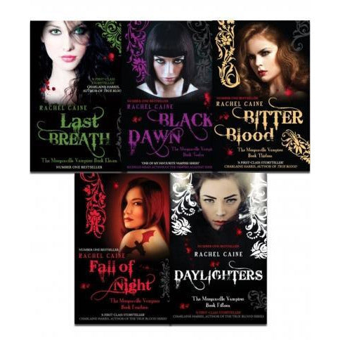 Morganville Vampires Series 3 By Rachel Caine 5 Books Collection Set - books 4 people