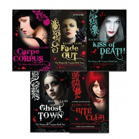Morganville Vampires Series 2 By Rachel Caine 5 Books Collection Set - books 4 people