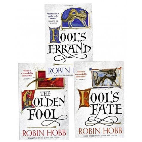 Robin Hobb The Tawny Man Trilogy 3 Books Collection Set - Fools Errand Book One The Golden Fool Bo.. - books 4 people