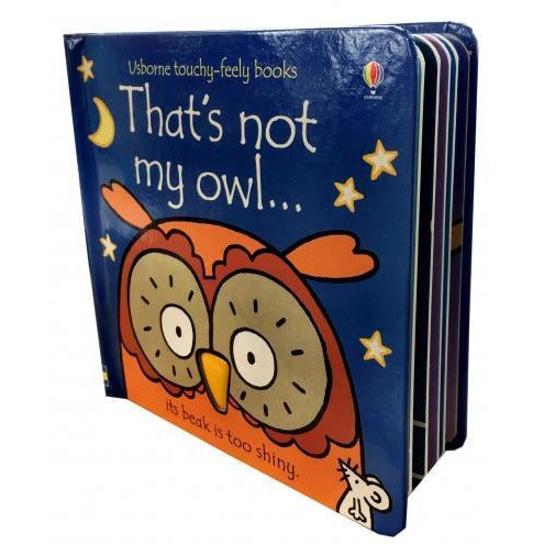 Thats Not My Owl Touchy-feely Board Books - books 4 people