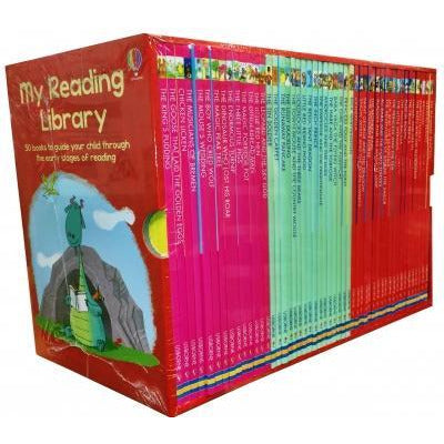 Usborne My Second Reading Library 50 Books Set Collection Pack Early Level 3 And 4 - books 4 people
