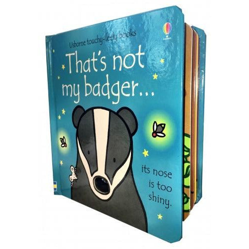 Thats Not My Badger Touchy-feely Board Books - books 4 people