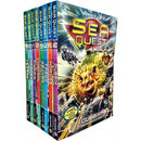 Sea Quest Series 3 And 4 Collection Adam Blade 8 Books Box Set 9-16 - books 4 people