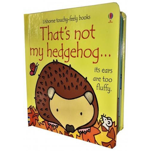 Thats Not My Hedgehog - Touchy-feely Board Books - books 4 people