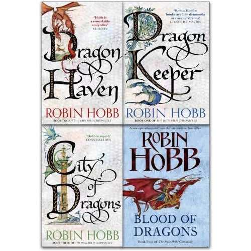 Robin Hobb The Rain Wild Chronicles Trilogy Collection 4 Books Set - books 4 people