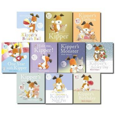 Kipper The Dog Collection Mick Inkpen 10 Books Set - books 4 people