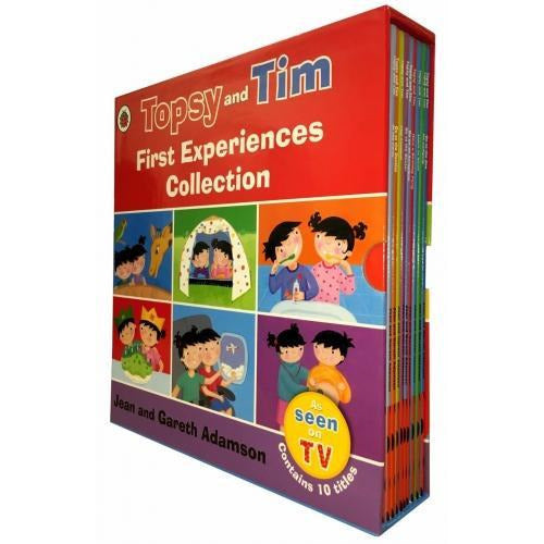 Topsy And Tim First Experiences Collection 10 Books Box Set - books 4 people