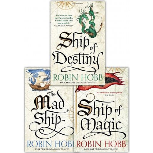 Robin Hobb The Liveship Traders Trilogy Collection 3 Books Set - books 4 people