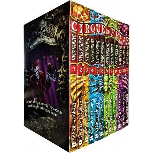 Cirque Du Freak Vampire Series - Darren Shan Complete 12 Books Collection Set - books 4 people