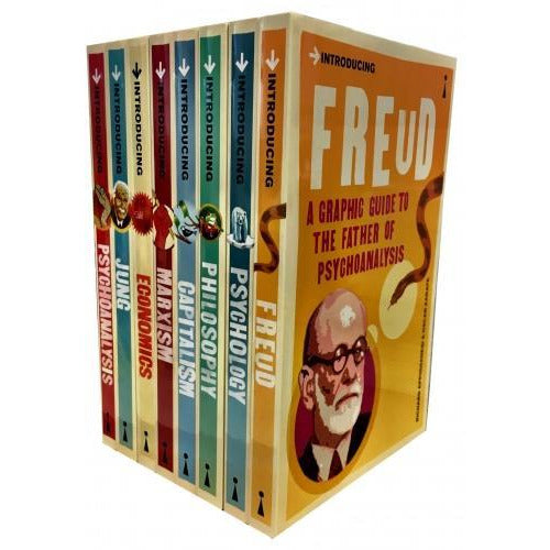 A Graphic Guide Introducing  Big Ideas Collection 8 Books Set - Freud Psychology Philosophy Capita.. - books 4 people