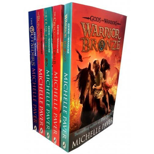 Michelle Paver Gods And Warriors Collection 5 Books Set - books 4 people