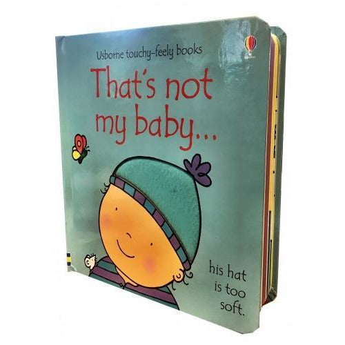 Thats Not My Baby - Boy Touchy-feely Board Books - books 4 people
